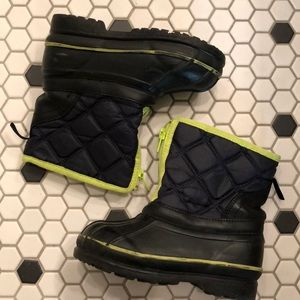 Baby GAP Snow Boots Thinsulate Boys Toddler 10
